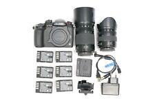 Panasonic Lumix GH5S  Camera + 35-100  and 12-35 Lenses  + Metabones BUNDLE
