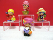 Hallmark Merry Miniature Lot of 4 with Hats Mini Figures