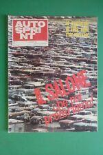 AUTOSPRINT 44/1969 SALONE DI TORINO FERRARI 512 S JACKIE STEWART CAN-AM