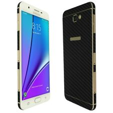 Skinomi Black Carbon Fiber Skin+Screen Protector For The Samsung Galaxy J7 Prime