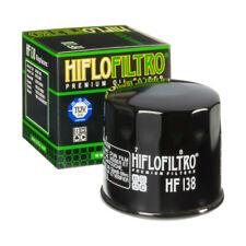 HF138 Hiflofiltro Motorcycle Oil Filter - Suzuki Bandit, GSXR, SV, TL, DL etc.