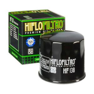 HF138 Hiflofiltro Motorcycle Oil Filter for Suzuki GSF Bandit, GSXR, SV, TL, DL