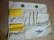ESTEX 1829-SNET AERIAL BASKET TOOL APRON/BOARD/POUCH HEAVY DUTY CANVAS