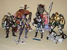 McFarlane Toys Spawn Wetworks Series 1 Figure Lot Werewolf Dozer Dane Grail 1995