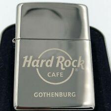 Hard Rock Cafe Zippo Lighter GOTHENBURG 🇸🇪 - polished Chrome - NEW