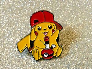 NINTENDO Pokemon Pikachu Bong Badge new Enamel Pin Badge
