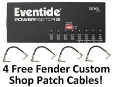 New Eventide Powerfactor 2 Multi-pedal 8-outlet Pedal Power Supply! Factor