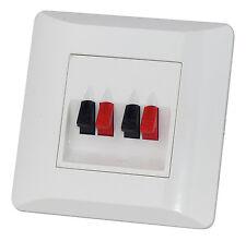 Wand-anschlussterminal für Lautsprecher Dynavox Up WEISS