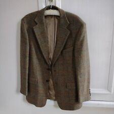 Harris Tweed Jacket Blazer 40in Herringbone Country Weave Hacking Hunting Sports