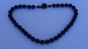 Ancien collier Perles de Lapis Lazuli