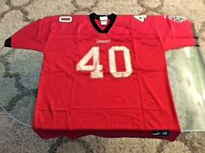 Tampa Bay Buccaneers Mike Alstott Red Jersey Adult 2X-Large 2XL Puma