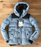 Moncler Grenoble Mens Rodenberg Padded Down Hooded Jacket Coat L EU52 Sz 4 42""