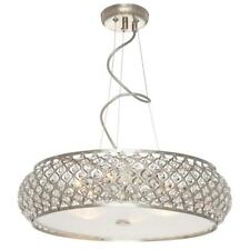 Home Decorators Collection 6-Light Brushed Stainless Steel Pendant