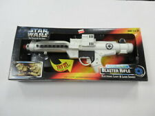 1996 KENNER STAR WARS BLASTER RIFLE SEALED COSPLAY
