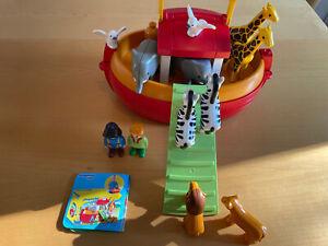 Playmobil 123/1.2.3 Meine Mitnehm-Arche-Noah Nr. 6765 vollständig
