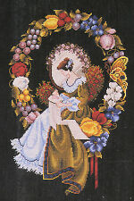 Cross Stitch Chart / Pattern ~ Lavender & Lace Lady of the Thread #LL3