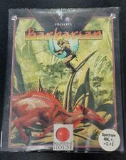 Barbarian (Psygnosis) - Sinclair ZX Spectrum - Boxed & Complete!