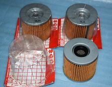 3 filtres à huile d'origine SUZUKI GS 450 500 850 1100 GSX 400 500 550 750 1100