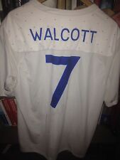 SHIRT WALCOTT ARSENAL SIGNED ENGLAND PATCH QUALIFIERS EURO 2012 UKRAINE & POLAND