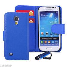 Fundas con tapa Para Samsung Galaxy S4 de color principal azul para teléfonos móviles y PDAs