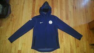 Nike Washington Wizards NBA Showtime Dri-FIT Full-Zip Hoodie Sweatshirt Youth XL