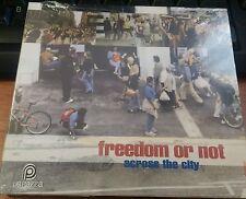 FREEDOM OR NOT - ACROSS THE CITY - RARO CD IRMA RECORDS SIGILLATO (SEALED)