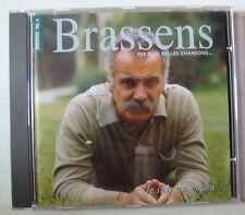 GEORGES BRASSENS  (CD) SES PLUS BELLES CHANSONS Vol 4 + INTERVIEW