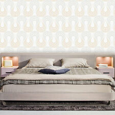 Tapete selbstklebend Glitter Embossing Effekt Wandtapete abwischbar Vinyltapete