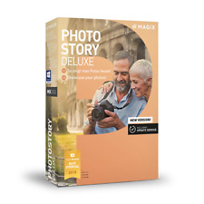 MAGIX Photostory Deluxe 2018: BOXED COPY