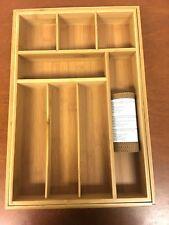 Seville Classics Expandable Bamboo Drawer Organizer - 8P_85