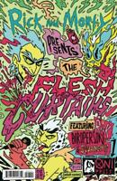 Rick and Morty Presents The Flesh Curtains #1 ONI Variant 1st Print 2019 COVER B