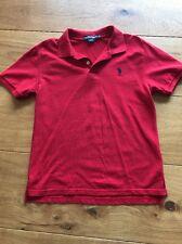 Children's Red U.S Polo Assn T Shirt. Designer, Smart, Red Nose Day, Xmas Etc