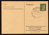 █ Ganzsache MOLSHEIM Cachet Spécial 25/02/43 WW2 █