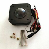 Arcade Trackball Mouse Illuminated 4.5cm Round LED Mouse PS/2 PCB  Connector