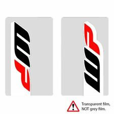 4mx Fork Décalques Transparent Power Stickers Fits DERBI 50 Senda SM DRD Evo 09-10