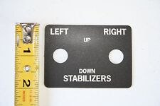 AMERICAN LAFRANCE FIRE TRUCK LABEL FOR STABLIZER - LEFT / RIGHT 1PC NEW