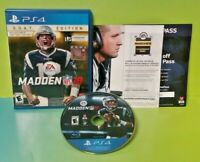 Madden 18 G.O.A.T. Edition NFL Football Game - Sony Playstation 4 PS4 - Tested