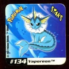 STAKS MAGNET AIMANT POKEMON N° 134 VAPOREON E