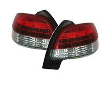 Peugeot 206 1998 1999 2000 2001-2006 Rojo Blanco VT388 Set Luces Traseras LED Cola