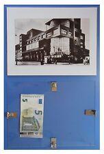 Club Zuev architettura Mosca, Russia URSS Comunismo: quadro cornice vetro 24x18