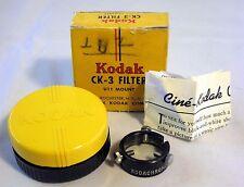 Vintage Kodak CK-3 Haze Lens Filter U11- Mount with Case,Box,Manual  6108044