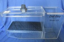 Del Rey Wet/Dry Model 125 Aquarium Filtration System Overflow - Acrylic Box Only