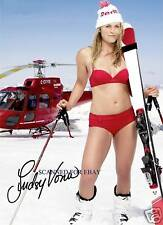 LINDSEY VONN SIGNED AUTOGRAPH 8x10 RP PHOTO OLYMPICS GOLD MEDALIST SEXY
