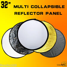 """32"""" 4in1 Collapsible sliver/Gold/Black/White Reflectors Panel"""