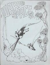 """Multimedia Fanzine -- """"Warped Space #42"""" -- 1979"""