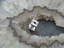 Steel bollos túnel acero 5mm piercing cuadrado de acero inoxidable acero quirúrgico 316l