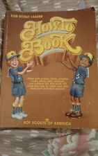 Cub Scout Leader HOW TO BOOK BSA Games, Crafts,  Songs,  Stories, Stunts, Skits