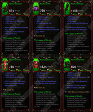 Diablo 3 RoS XBOX ONE [SOFTCORE] Full Primal The Legacy of Raekor Barbarian Set