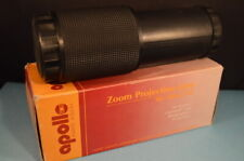 APOLLO ZOOM PROJECTION LENS  Excellent!  100-150mm  KODAK CAROUSEL & EKTAGRAPHIC