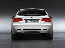 Genuine BMW E92 E93 OE M Performance diffuser rear bumper Spoiler Splitter 325